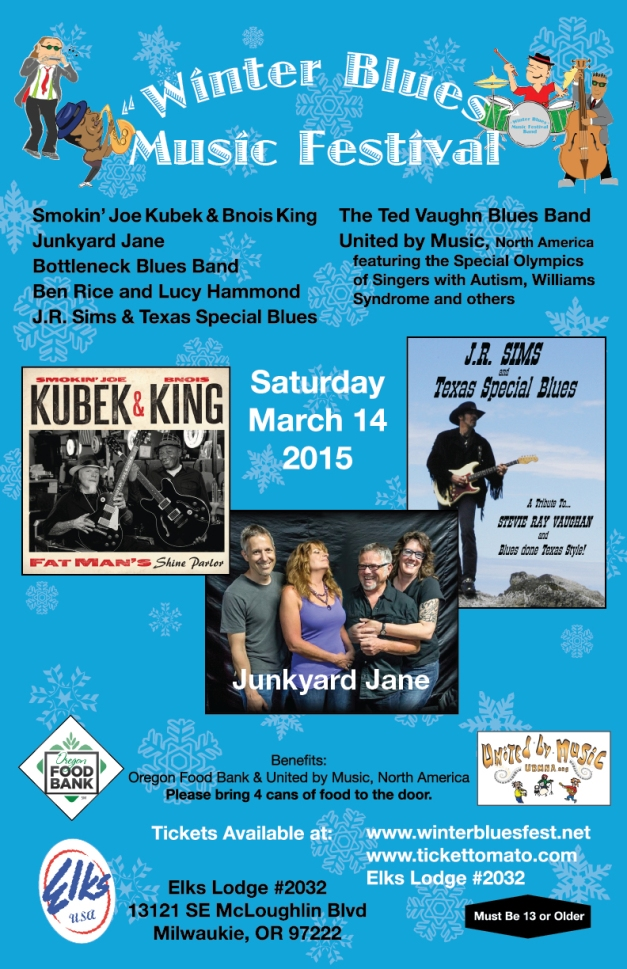 Winter Blues Music Festival 2015